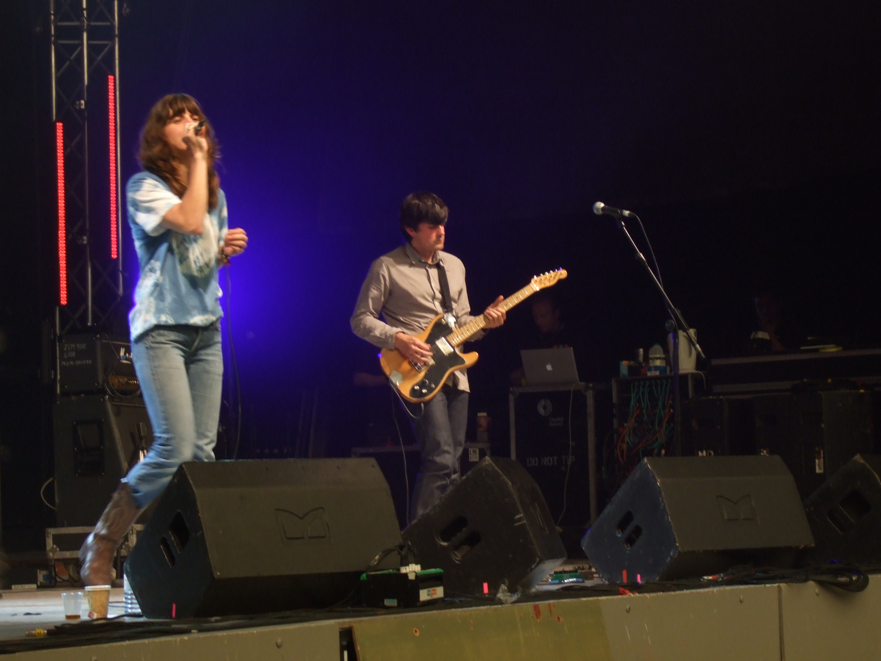 Fiery Furnaces at ATP Pavement